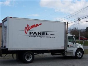 Sunshine Banners & Signs vehicle graphics application process is designed to make your art look as if it's painted flawlessly onto your car or truck.