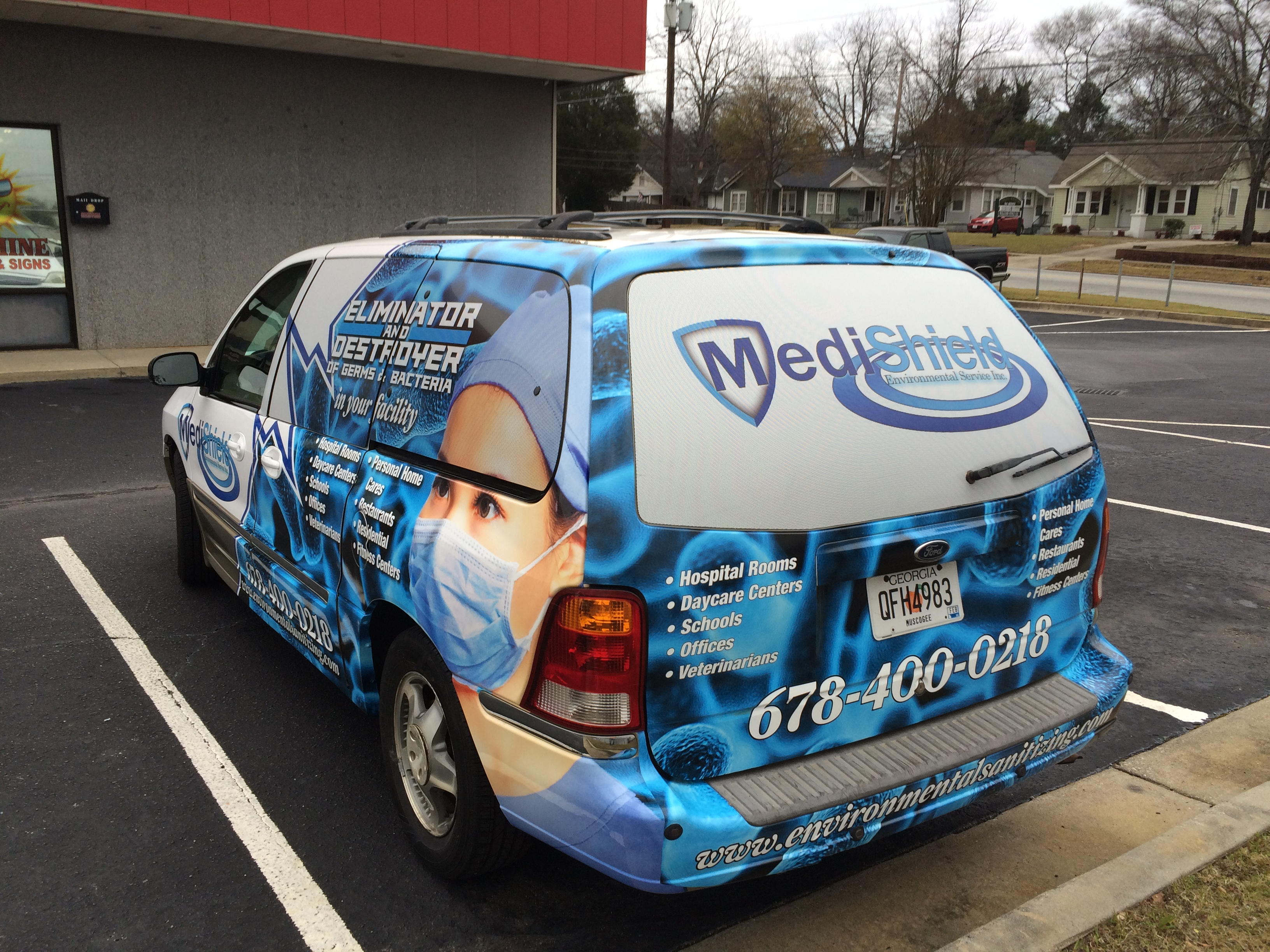 Vehicle Graphics Sunshine Banners Signs ColumbusGA - Vehicle decals for business application