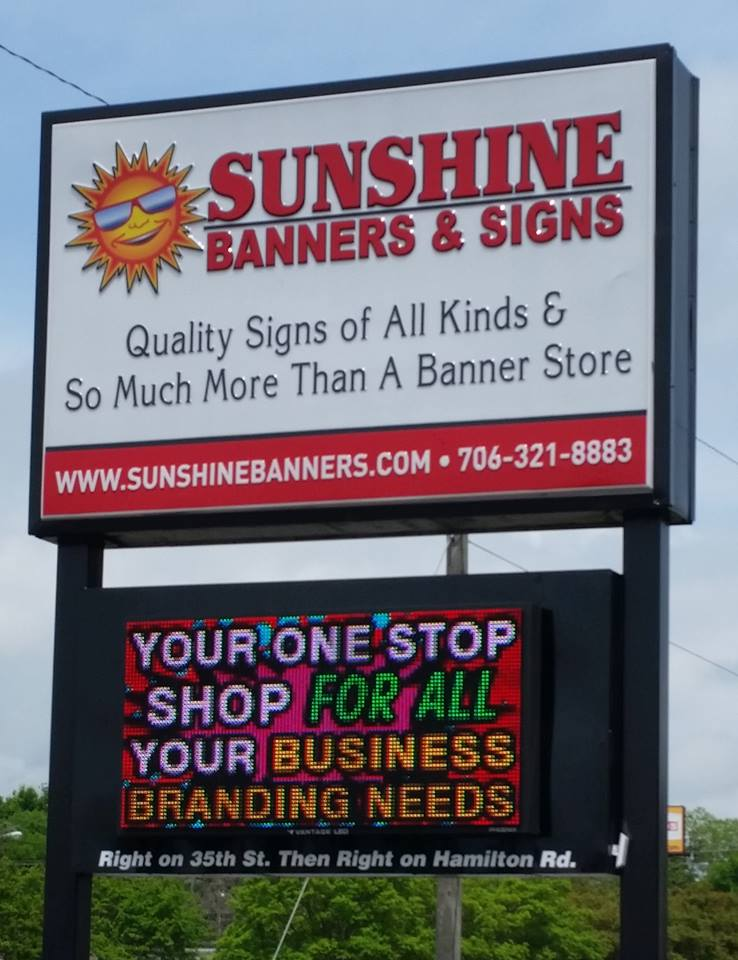Led Signs Created By Sunshine Banners Will Make Your An Effective Place For Doing Business