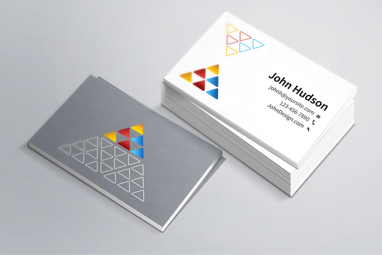 Business cards sunshine banners signs columbus ga an effective business card should have cheaphphosting Image collections