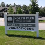 north-park-family-dentistry-monument-sign